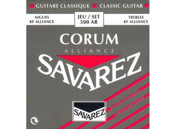 Jogos de cordas para guitarra clássica Savarez 500AR