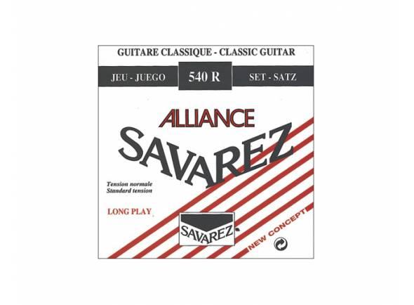 Jogos de cordas para guitarra clássica Savarez 540R