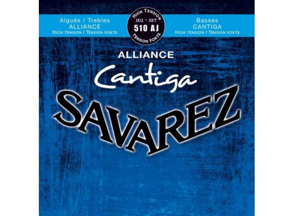 Cordas para guitarra clássica Savarez  Cantiga 510A