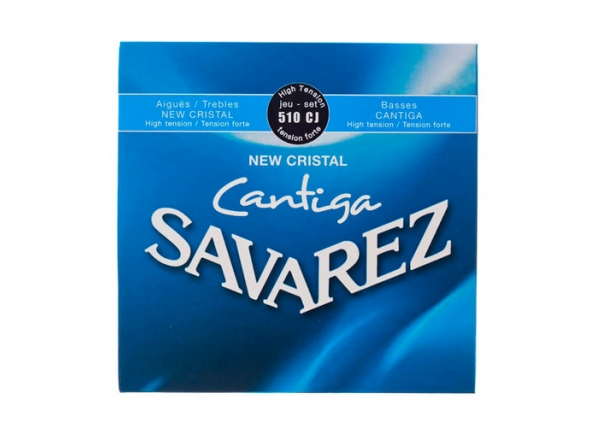 Jogos de cordas para guitarra clássica Savarez  Jogo cordas guitarra classica  510CJ Cantiga
