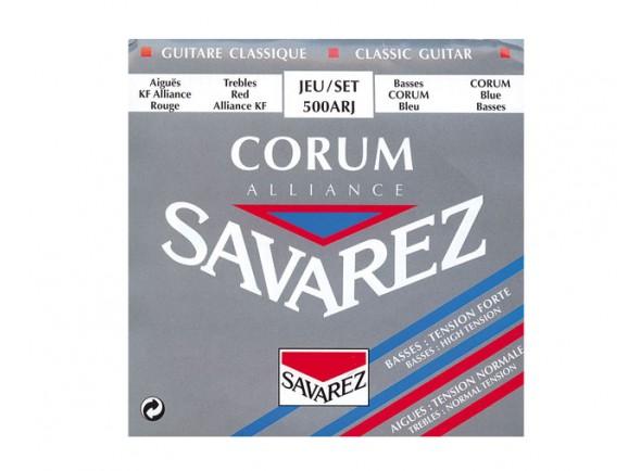 Jogos de cordas para guitarra clássica Savarez Jogo de Cordas Guitarra Clássica 500ARJ Corum