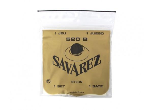 Jogos de cordas para guitarra clássica Savarez Jogo de Cordas Guitarra Clássica 520B