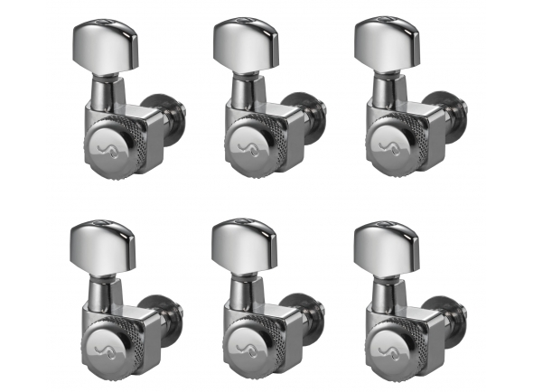 Peças de reposição Schaller F-Series Locking Tuners 6L CH