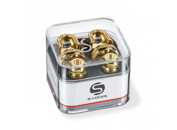 Acessório para correia de guitarra Schaller S-Locks GO