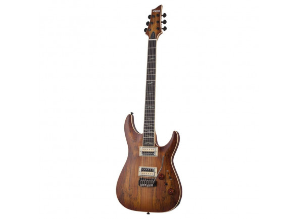 Guitarras formato ST Schecter  C-1 Exotic Spalted Maple SNVB