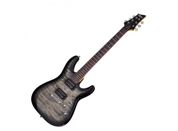 Guitarras formato ST Schecter C-6 Plus Charcoal Burst