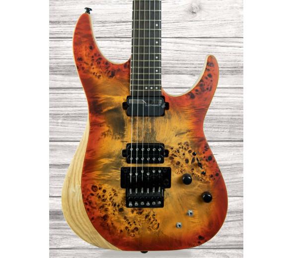 Guitarras Schecter em stock Guitarras formato ST Schecter  Reaper-6 FR S SIB