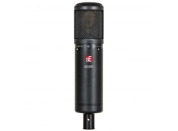 Microfone condensador de membrana grande/Microfone de membrana grande SE Electronics SE 2200