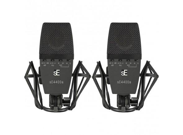 Microfone condensador/Microfone de membrana grande SE Electronics SE 4400A Stereo Set