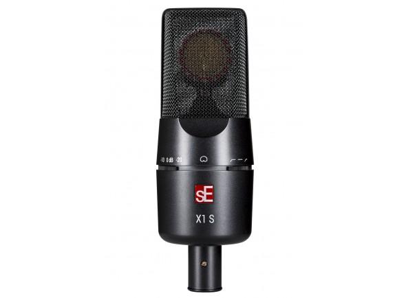 Microfone condensador cardióide de diafragma grande/Microfone de membrana grande SE Electronics X1S