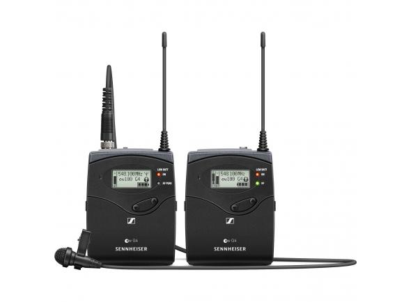 Sistema sem fio com microfone lapela Sennheiser EW 112P G4 Banda A