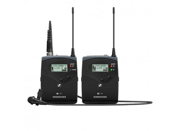Sistema sem fio com microfone lapela Sennheiser  EW 122P G4 A-Band
