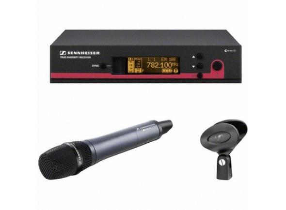 Sistema sem fios com microfone de mão Sennheiser EW 135 G3