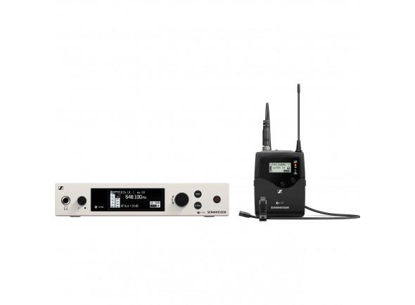 Sistema sem fio com microfone lapela Sennheiser  ew 500 G4 MKE2 AW+ Band