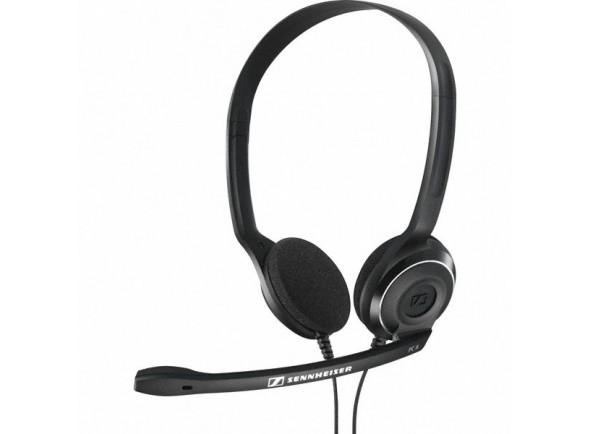 Auscultadores com microfone/HeadSets Sennheiser Headset PC 8 USB Preto