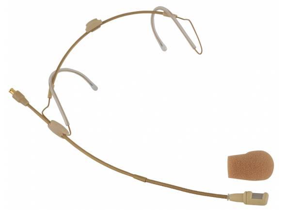 Microfone de cabeça/Microfone de cabeça Sennheiser HSP 4 EW-3 Beige
