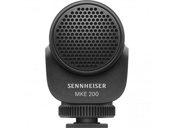 Microfone Condensador Direcional para Câmara e vídeo/Microfone para Câmara Sennheiser MKE 200