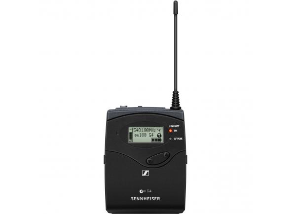 Emissores para microfones sem fio Sennheiser SK100 G4 E-Band