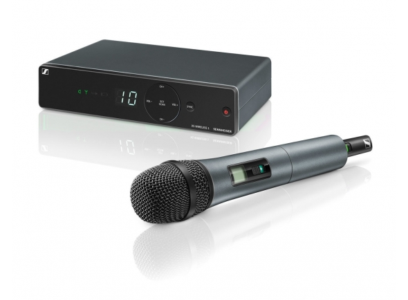 Sistema sem fios com microfone de mão Sennheiser XSW 1-835 A-Band Vocal Set