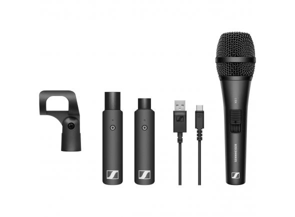 Sistema sem fios com microfone de mão Sennheiser XSW-D Vocal Set