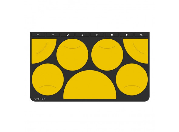 Drum Pad /Outros controladores Sensel   Drum Pad Overlay
