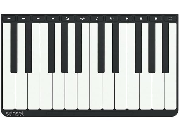 Piano para controlador/Outros controladores Sensel   Piano Overlay
