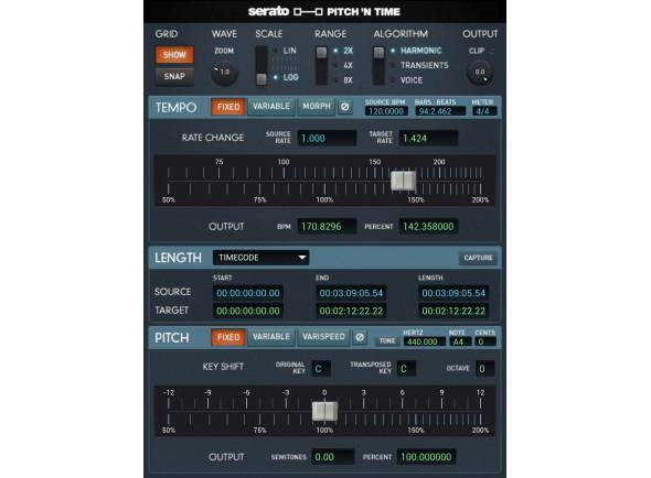Plugins de áudio e efeitos/Software DJ Serato Pitch' N Time Pro