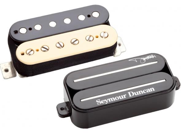 Captadores para guitarra elétrica Seymour Duncan Dimebucker Set Zebra