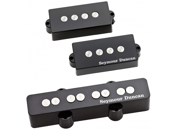 Captador J-Bass de 4 cordas Seymour Duncan Quarter Pound P/J Bass Set