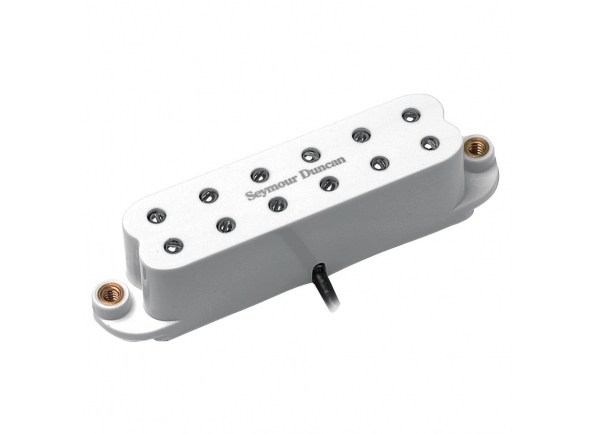 Humbucker em formato single coil Seymour Duncan SL59-1N Little 59 Strat Neck