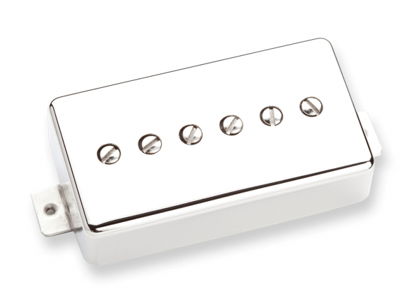 Captadores para guitarra elétrica Seymour Duncan SPH90-1B Phat Cat Bridge Nickel