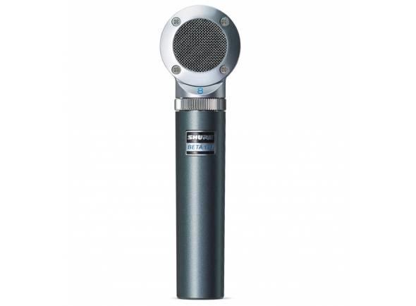 Microfones de estúdio Shure Beta 181/BI