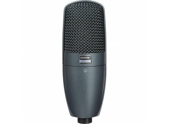 Microfones de estúdio Shure Beta 27