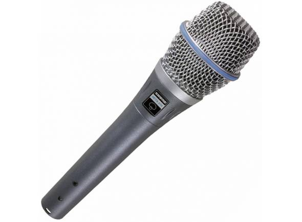 Microfone Vocal Condensador Shure Beta 87A