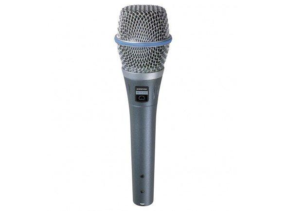 Microfone Vocal Condensador/Microfone Vocal Condensador Shure BETA 87C