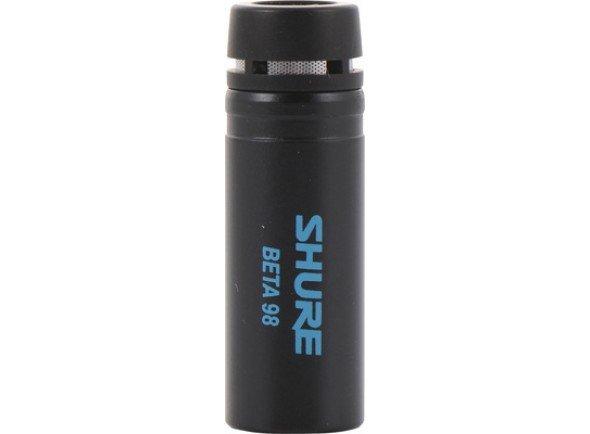 Microfone condensador membrana pequena/Microfone condensador membrana pequena Shure BETA 98S