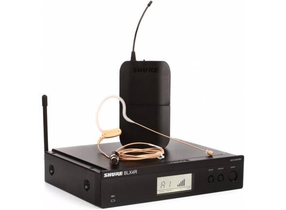 Sistema sem fio com microfone de cabeça Shure BLX14/MX53