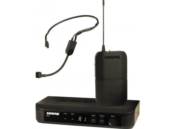 Sistema sem fio com microfone de cabeça Shure BLX14E/P31-K3E