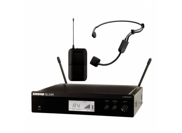 Sistema sem fio com microfone de cabeça Shure BLX14R/P31