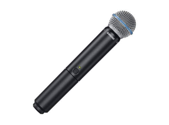 Microfones para sistema sem fios Shure BLX2/Beta58