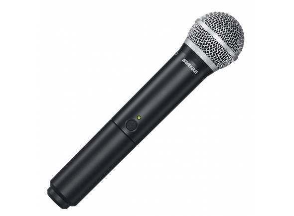 Microfones para sistema sem fios Shure BLX2/PG58