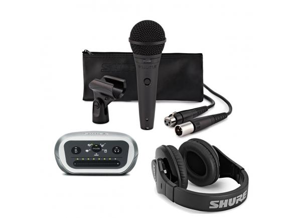 Conjunto para estúdio Shure Digital Recording Kit