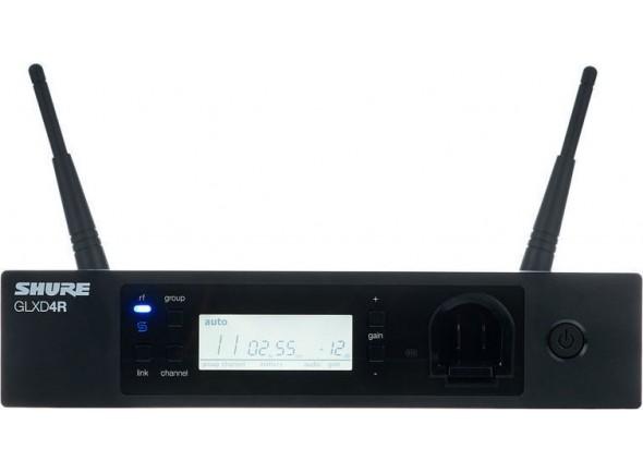 Receptor de instrumento avançado GLXD/Componente para sistema sem fios Shure GLXD-RE4