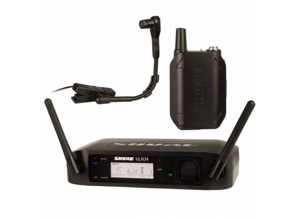 Sistemas sem fios com microfones para instrumentos Shure GLXD14/B98 Z2