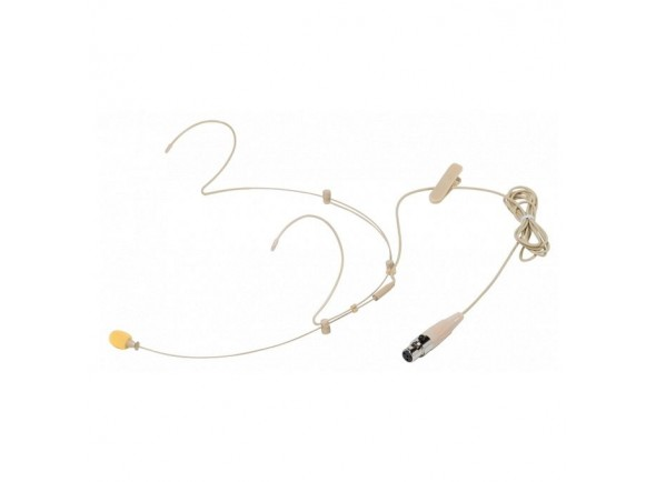 Microfone de cabeça de cor Bege /Microfone de cabeça Bespeco HS100SU