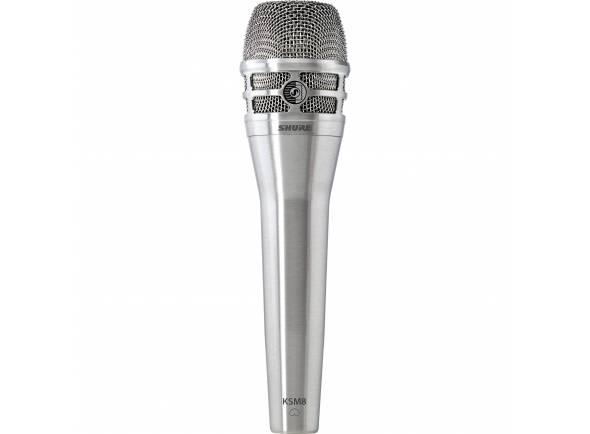 Microfone dinâmico Shure KSM8 N