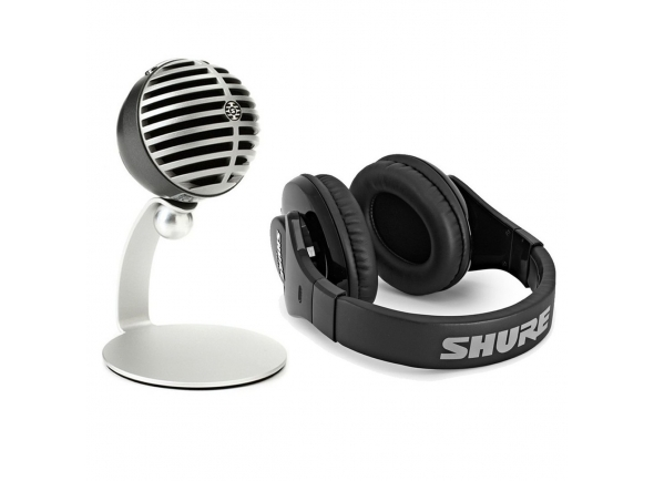 Microfone USB Shure Mobile Recording Kit