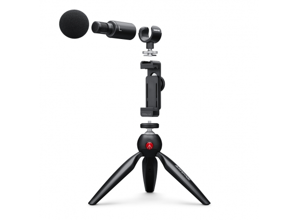 Microfones especiais Shure MOTIV MV88+ Video Kit