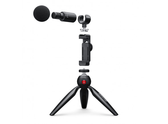 Microfones especiais Shure MOTIV MV88+ Video Kit B-Stock