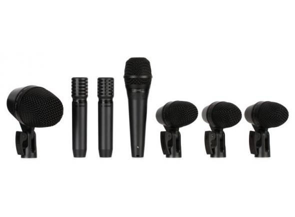 Conjunto de microfones para bateria Shure PGA Drumkit 7